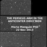 The Perseus  spiral arm in the Anticenter direction