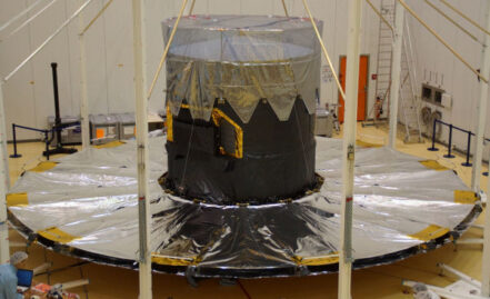 Gaia sunshield deployment test  SUCCESSFULL