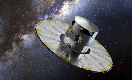 Gaia first discovery: surprise space debris