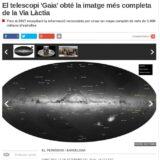 """""""El telescopi 'Gaia' obté la imatge més completa de la Via Làctia"""" (El Periódico de Catalunya, 14 Set 2016)"""