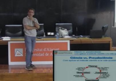 En Xavi Luri ens parla del mètode científic i de l'escepticisme i les pseudociències