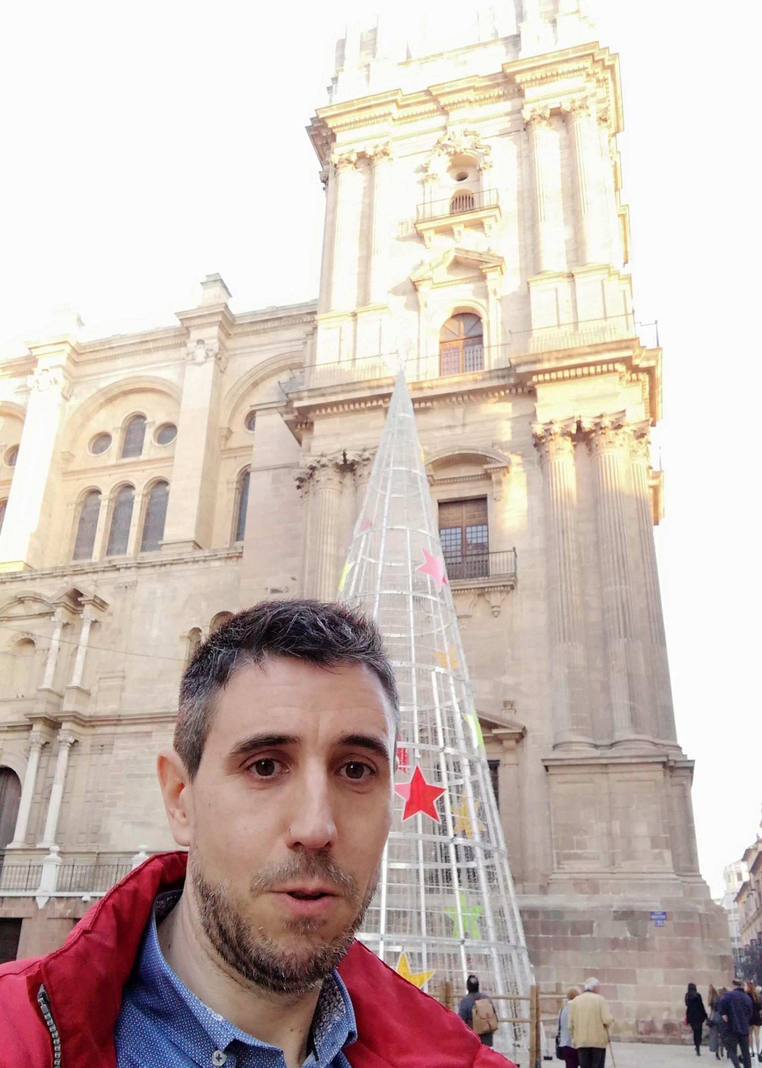 Dani at Málaga