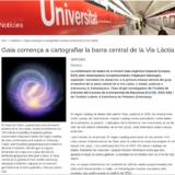Gaia comença a cartografiar la barra central de la Via Làctia (Notícies UB, 16/07/2019)