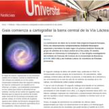 Gaia comienza a cartografiar la barra central de la Vía Láctea (Notícies UB, 16/07/2019)